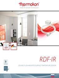 Обзор датчика RDF-IR Thermokon