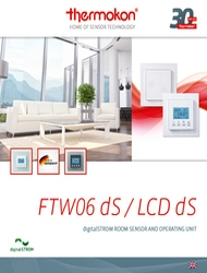 Обзор беспроводного датчика FTW06_dS Thermokon